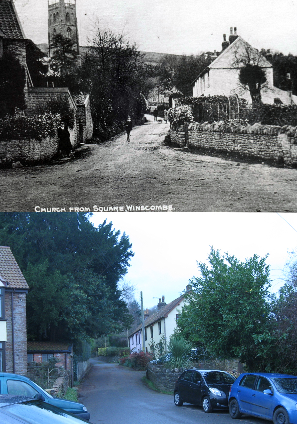 From the Square, Winscombe c1905-2018