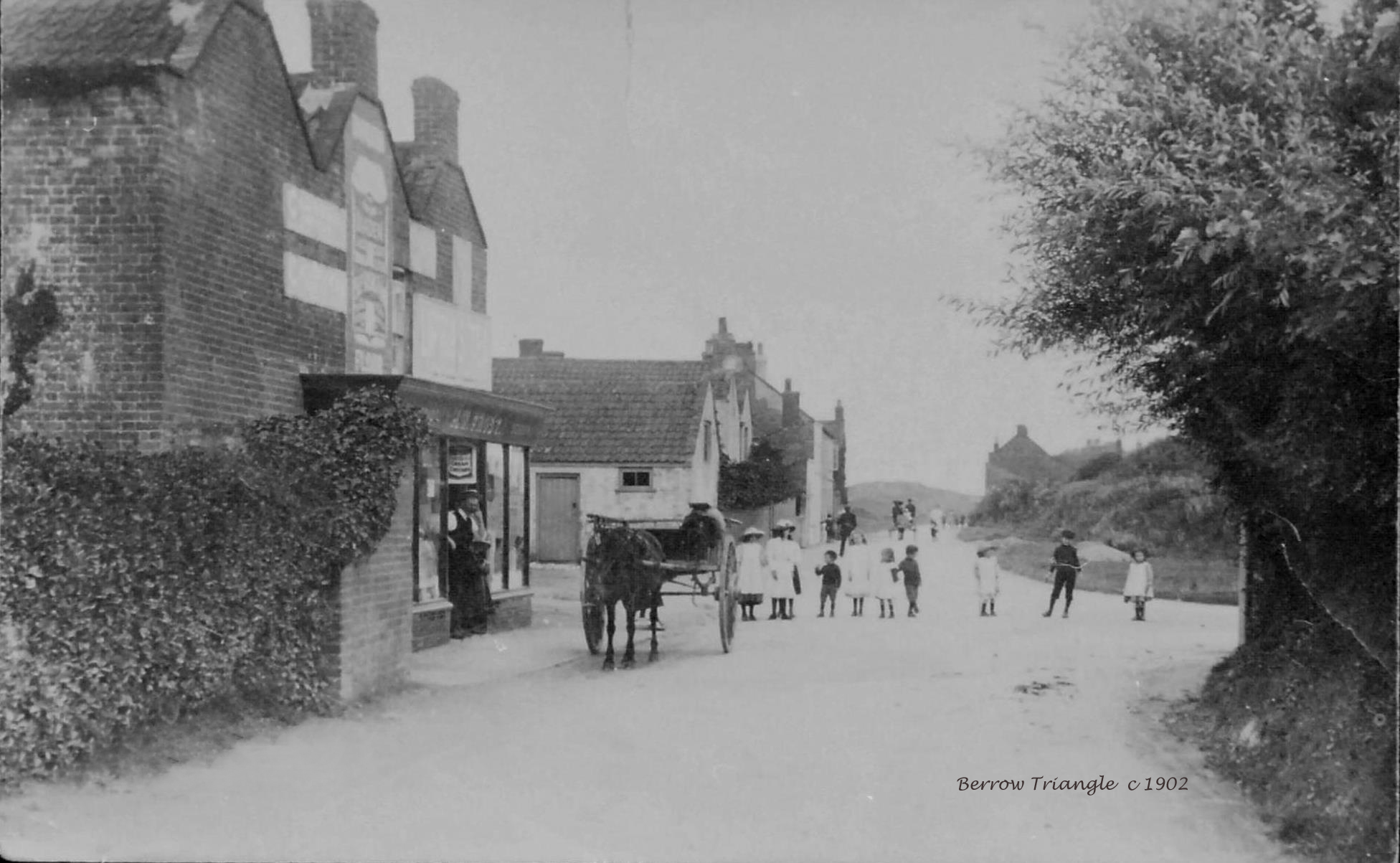 Berrow Triangle, c1902